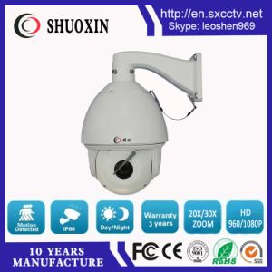 2.0MP 20X Zoom Chinese CMOS HD IP High Speed Dome CCTV Camera pictures & photos