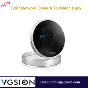 720p Mirror Network WiFi CCTV Camera to Watch Baby PIR Temperature and Humidity Detection IR Remote Wizard Wireless P2p IP Camera