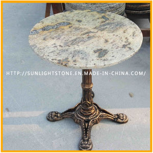 China Juparana Granite Stone Table/Cafe Table/Coffee Table/Dining Table/Tea Table pictures & photos