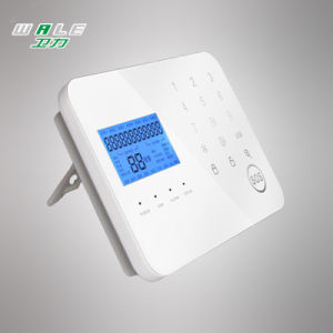 PSTN+GSM Home Security Alarm System with LCD Display pictures & photos