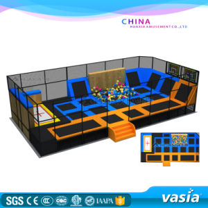 2016 New Design Multi-Function Trampoline Park by Vasia for Kids pictures & photos