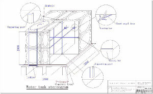 Stainless Steel 304 Material Water Tank Price pictures & photos