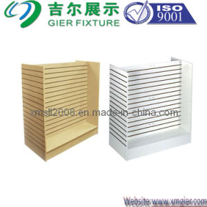 Wood Slatwall Stand Rack for Display (SW-03) pictures & photos