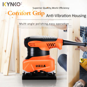 Kynko Orbital Wood Sander Portable Electric Power Tools (kd66) pictures & photos