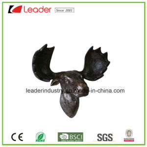 Polystone Sheep Skull Mounted Animal Head Sculpture Wall Trophy for Home Decoration pictures & photos