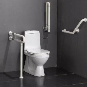 U-Shape Toilet Grab Bars with Fixed Leg pictures & photos