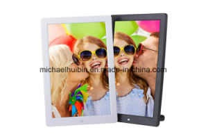 New 12.5inch Vertical Stand LCD Screen Advertising Video Player (HB-DPF1252) pictures & photos