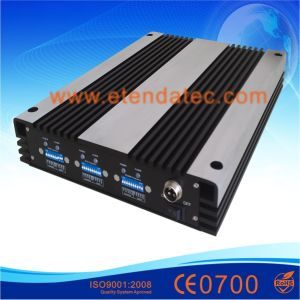 30dBm 85dB GSM/Dcs/WCDMA 2g 3G Mobile Signal Repeater pictures & photos