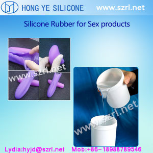 Platinum Silicone Rubber for Sex Toys and Private Parts Penis Molds pictures & photos