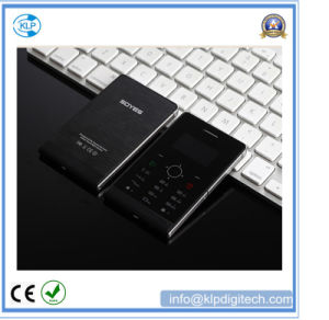 H1 Ultra Thin Mini Mobile Phone 1.3 Inch Single SIM Touch Keyboard Card Mobile Phone Low Radiation pictures & photos