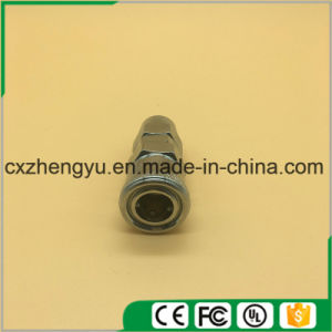 C Type Quick Plug PP20/30/40 Male Connector Quick Screw Type Plug 8mm /10mm/12mm pictures & photos