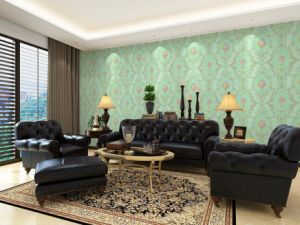 GBL Bedroom Home Decor Mosaic Background Damask Wallpaper pictures & photos