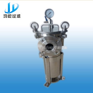 High Temperature Stainless Steel Single Bag Filter pictures & photos