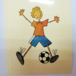 Clear Cartoon Kids PVC Self Adhesive Labels pictures & photos