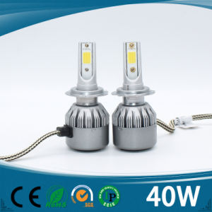 Highest Quality Car LED Headlight H4 H7 9005 9006 H13 H1 H3 with Chips 4500lm pictures & photos