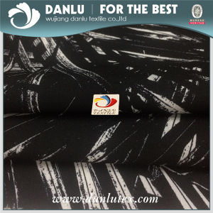 Polyester Plain Four Way Stretch Spandex Fabric for Stretch Dress Pants Making pictures & photos