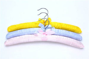Colorful Satin Padded Hanger for Clothes pictures & photos