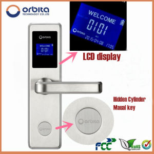 LED Display Swipe Card Lock for Hotels pictures & photos