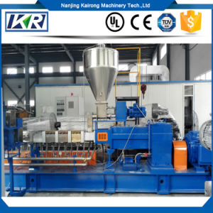 PP Plastic Granule Making Machine/Plastic Compounding Masterbatch Equipment Unit/Twin Screw Extruder Manufacturer pictures & photos