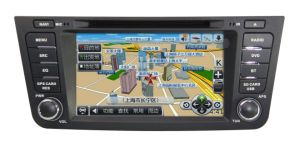 2 DIN Capacitive Touch Screen Car Navigation with Bt 3G Vmcd FM Am for Emgrand Gx7 Support GPS Tracker pictures & photos