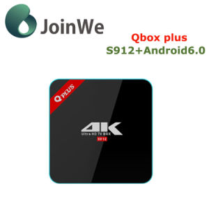 Google Android 6.0 Ott TV Box Qbox Plus S912 Box pictures & photos