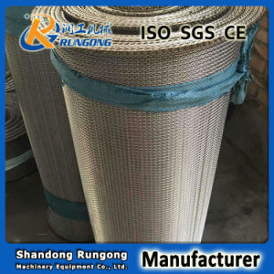 Steel Dutch Weave Wire Mesh Spiral Conveyor Hardening Furnace Belt pictures & photos