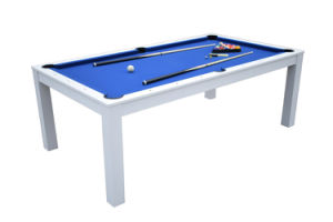 213cm France Dining Top Pool Table Btw706 pictures & photos