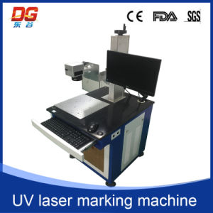 High Speed 3W UV Laser Marking Machine for Glass pictures & photos