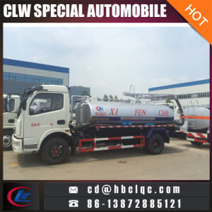 Dongfeng 5000L Septic Vehicle Vacuum Sewage Suction Truck pictures & photos