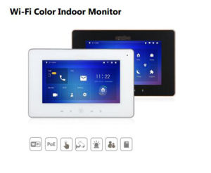 Video Intercom Wi-Fi Group Call Color Indoor Monitor pictures & photos