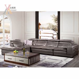 Modern Leather Sofa with Stereo Equipment (1620A) pictures & photos