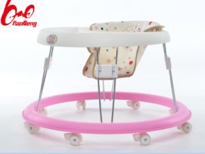 Swivel Wheel Plastic Baby Walker China /Wholesale Outdoor New Model Baby Walker/Plastic Toy Style Baby Walker Seat Cover pictures & photos