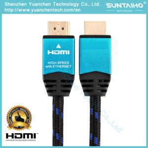 4k High Speed HDMI Cable with Ethernet 2160p/1080P V1.4/2.0 pictures & photos