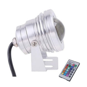 10W IP68 DC12V RGB LED Floodlight pictures & photos