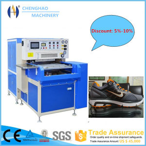 High Efficient PLC Controled Shoe Upper Plastic Welding Machine Made in China pictures & photos
