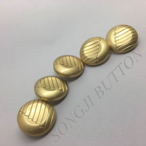 Fashion Metal Zinc Alloy Sewing Shank Button for Coat pictures & photos