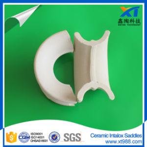 High Acid Resistance Ceramic Intalox Saddle pictures & photos
