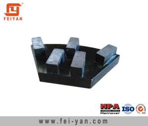 Trapezoid Rectangle Grinding Plate for Concrete pictures & photos