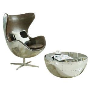 Design Aluminium Egg Lounge Chair pictures & photos