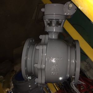 DIN Handle Wheel Wcb Ball Valve Floating Ball Type (Q41F-PN40-DN200) pictures & photos