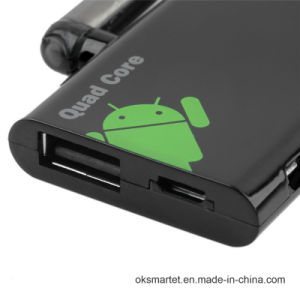 WiFi Android 4.4 Mini TV Box Rockchip Rk3188 1.8GHz Cortex A9 Quad Core Cx919 TV Box pictures & photos