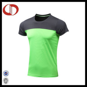 China Cheap Custom Print Men Sportswear T Shirt pictures & photos