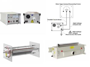 Glass Split Type Corona Treatment Frame (HW-DF1500) pictures & photos