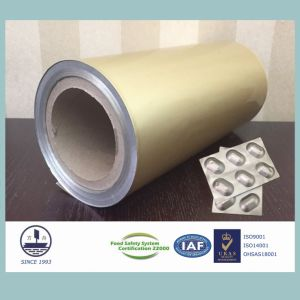 Cold-Stamping Molding Aluminum Foil for Packaging Medicines (Alloy 8021) pictures & photos
