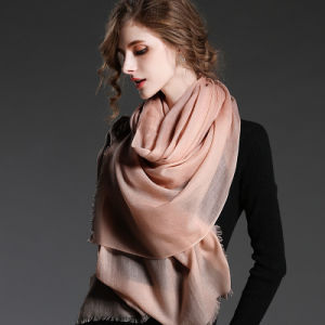 Soild Color Wool Scarf for Women