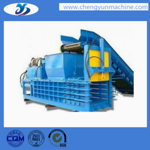 China Customized Hydraulic Vertical Used Clothes Baler pictures & photos