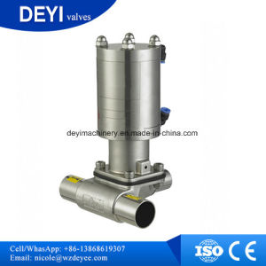 Stainless Steel Aspetic Manual Welding Diaphragm Valves pictures & photos