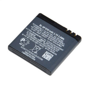 Battery Bl-6p Bl6p Bl 6p Rechargeable Mobile Phone Replacement Accessories Parts for Nokia 6500c 6500 7900p 7900 pictures & photos