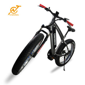 2017 Full Suspension MID Drive Bafang Motor 750W Fat Tire Mountain Electric Bike pictures & photos