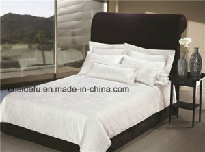 High-Star Hotel Jacquard Bed Sheet, Pillow Case, Duvet Cover Bedding Set pictures & photos